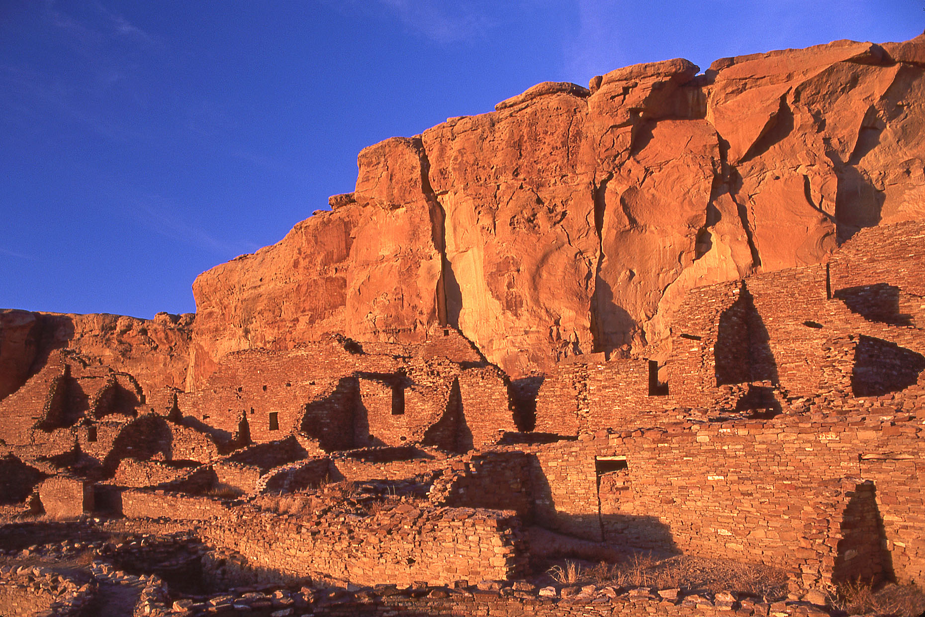 "Pueblo Bonito, ""Beautiful Town,"" John Annerino, Chaco Canyon National Historical Park, Victor Mindeleff, Richard Wetherill, UNESCO World Heritage Site, Chaco Meridian, Carravahal, discovery 1849 James Simpson expedition"