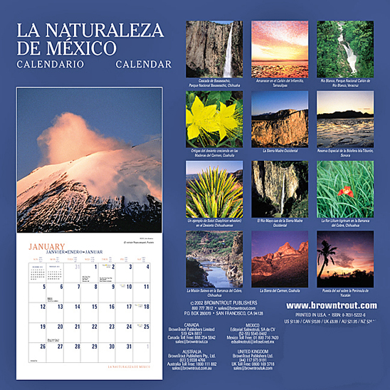 La Naturaleza de México, John Annerino,UNESCO Biosphere Reserves, The Natural Landscapes of Mexico