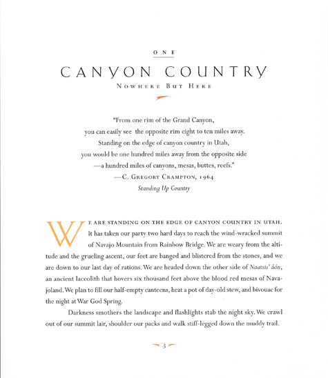Canyon Country, John Annerino, A Photographic Journey