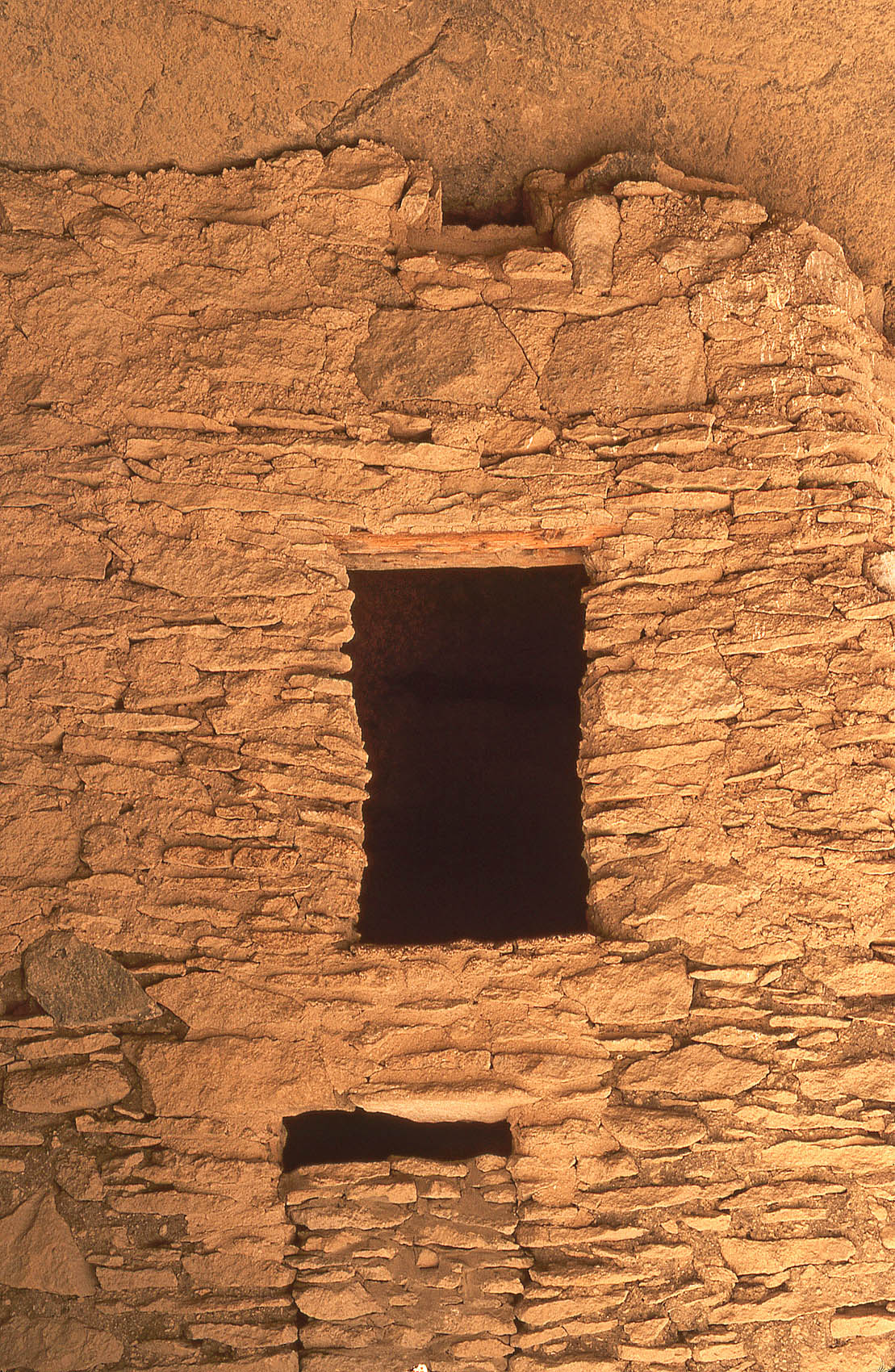 Ancestral Mogollon storage granary, John Annerino, Gila Cliff Dwellings National Monument NM, Gila River headwaters birthplace of Geronimo