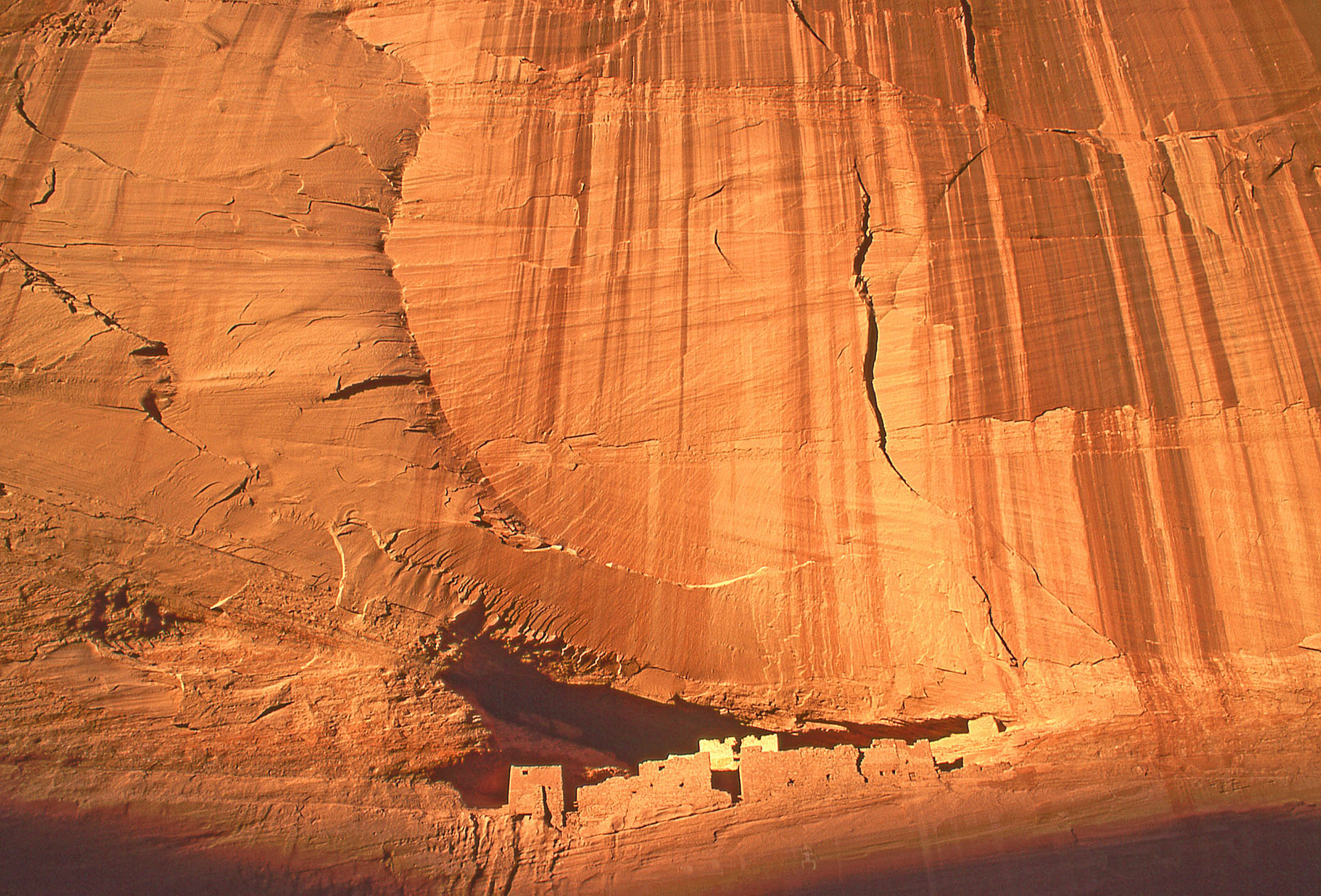 White House cliff dwelling, John Annerino, Canyon de Chelly National Monument, AZ