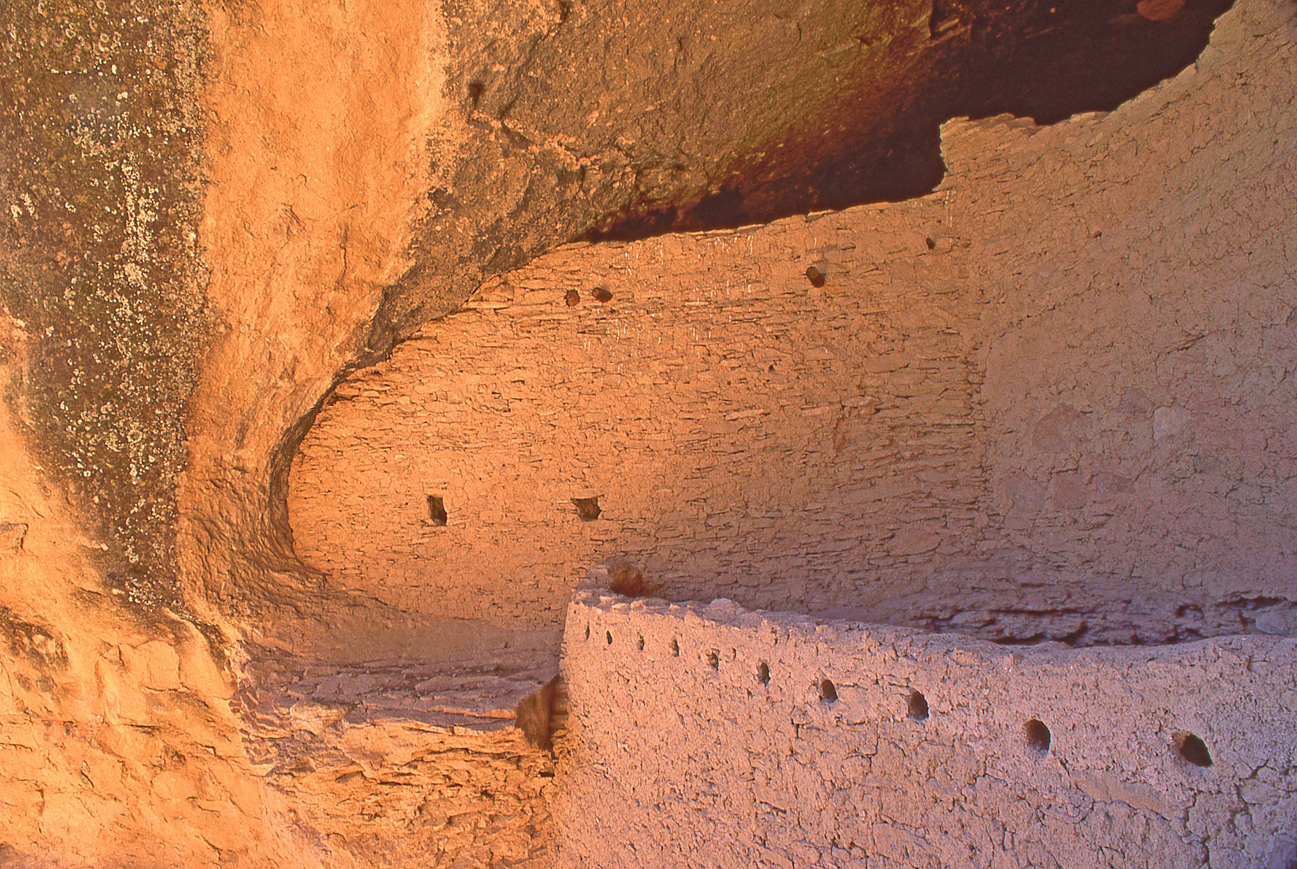 Gila Cliff Dwellings National Monument, John Annerino, NM, Ancestral Mogollon cave dwellings