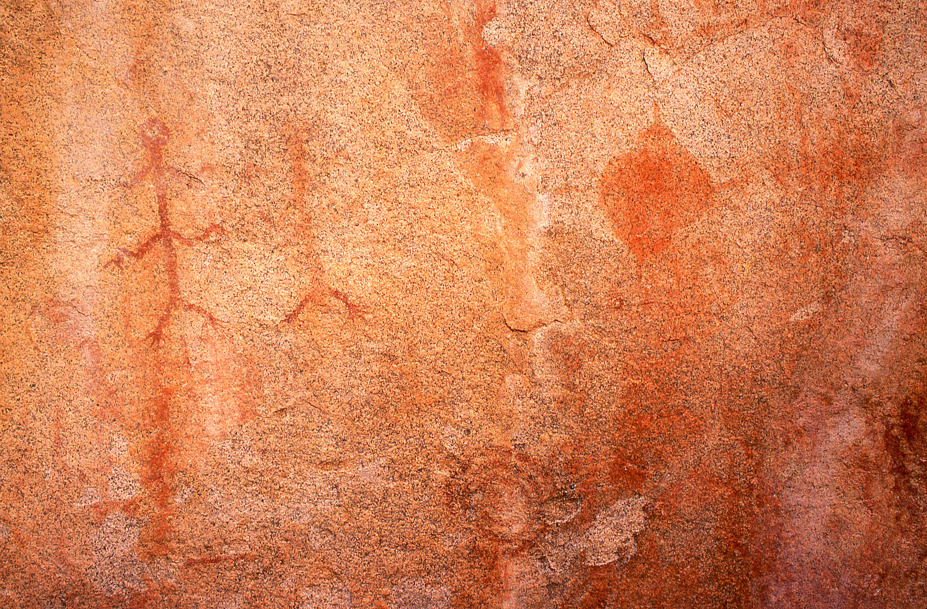 Pictographs, John Annerino, Cochise Stronghold National Register of Historic Places, AZ, ancestral Mogollon rock art