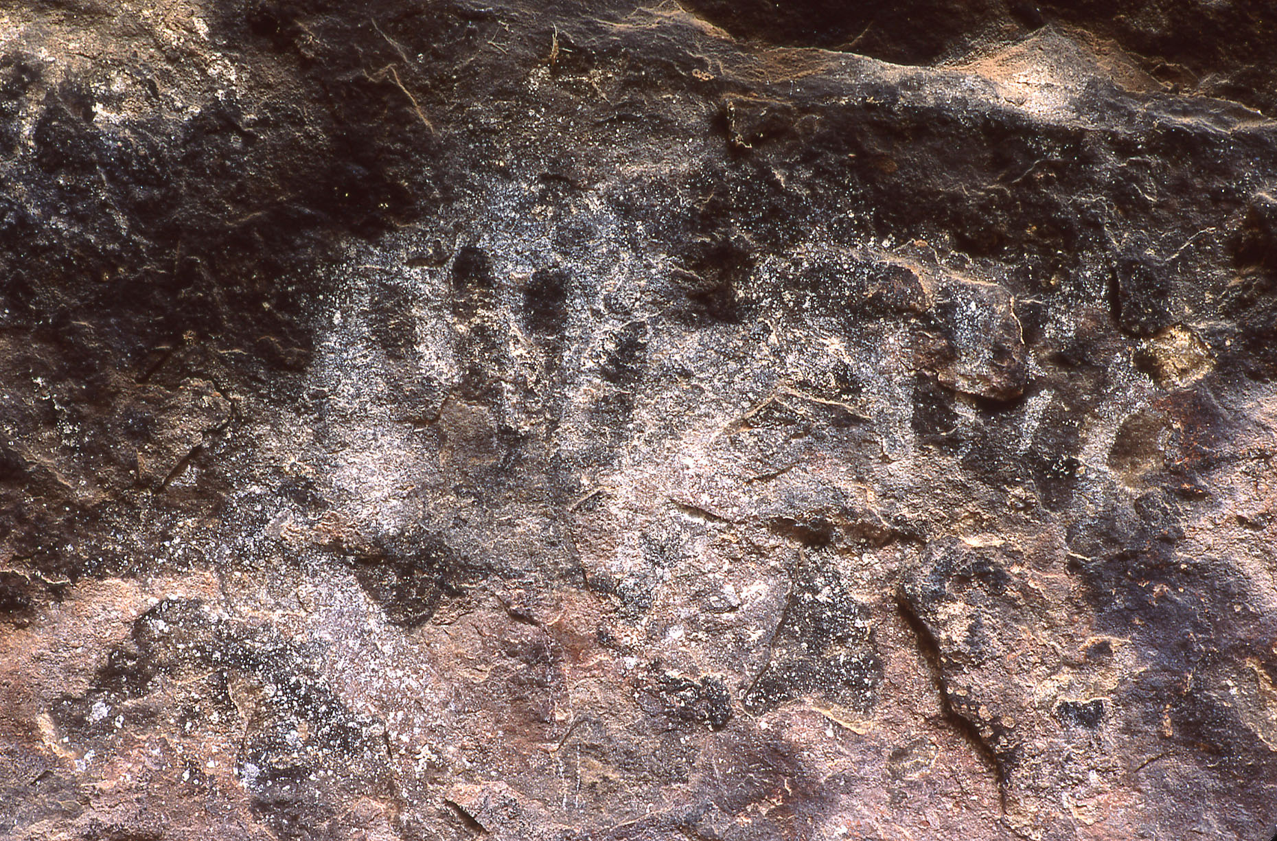 Hand pictographs, John Annerino, Cave Springs Cowboy Camp, Canyonlands National Park, UT, National Register of Historic Places