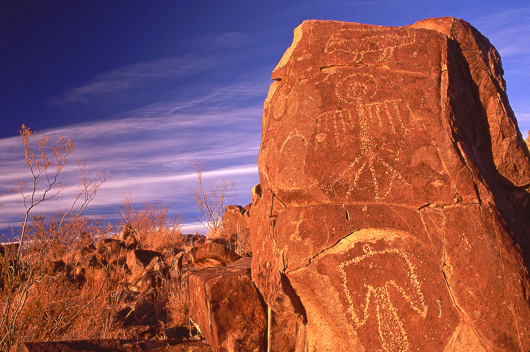 Thunderbird rock, John Annerino, Mescalero Apache, Billy the Kid, Three Rivers Petroglyph Site NM, Sierra Blanca, Bureau of Land Management, Rio Grande, Jornada Mogollon